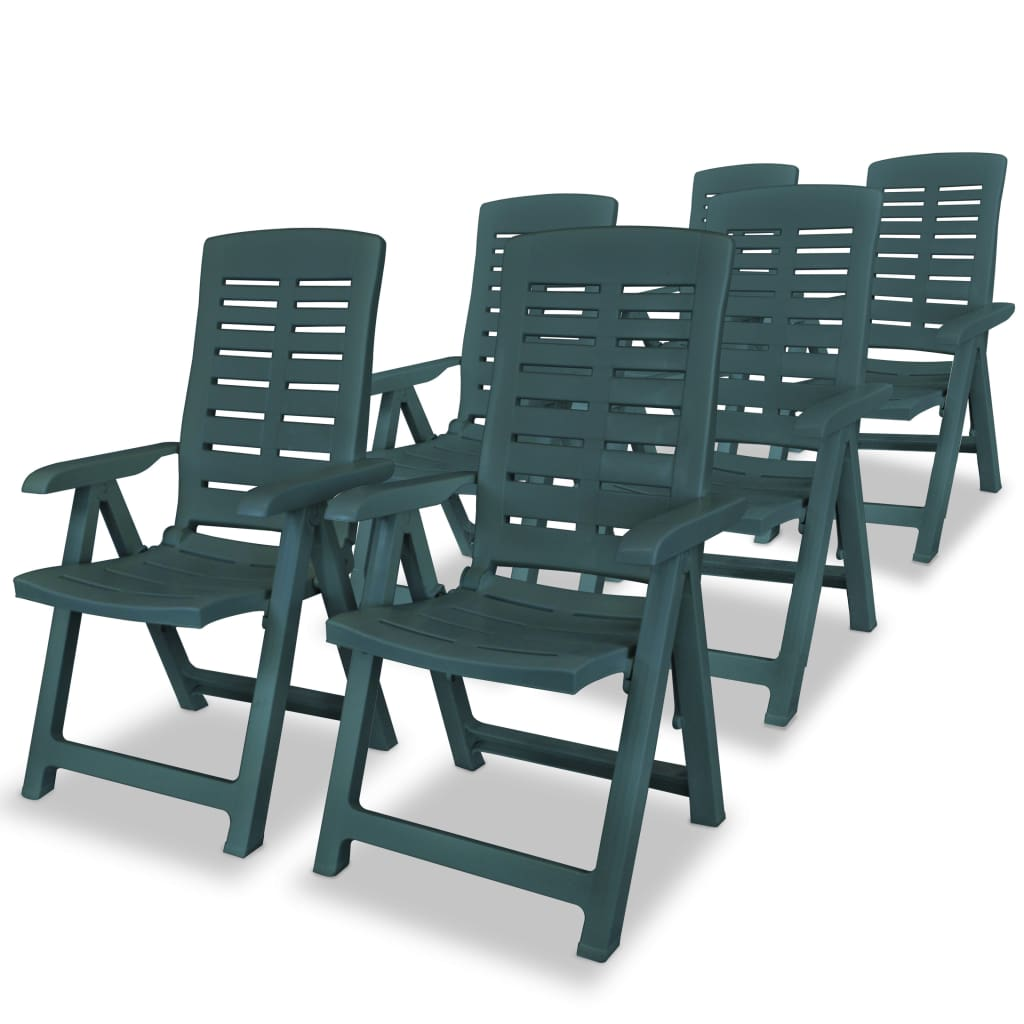 vidaxl műanyag kerti szék