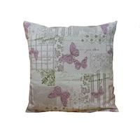 Kалъфка за декоративна възглавница PLURIEL rose 45x45 см.,цвят: многоцветен