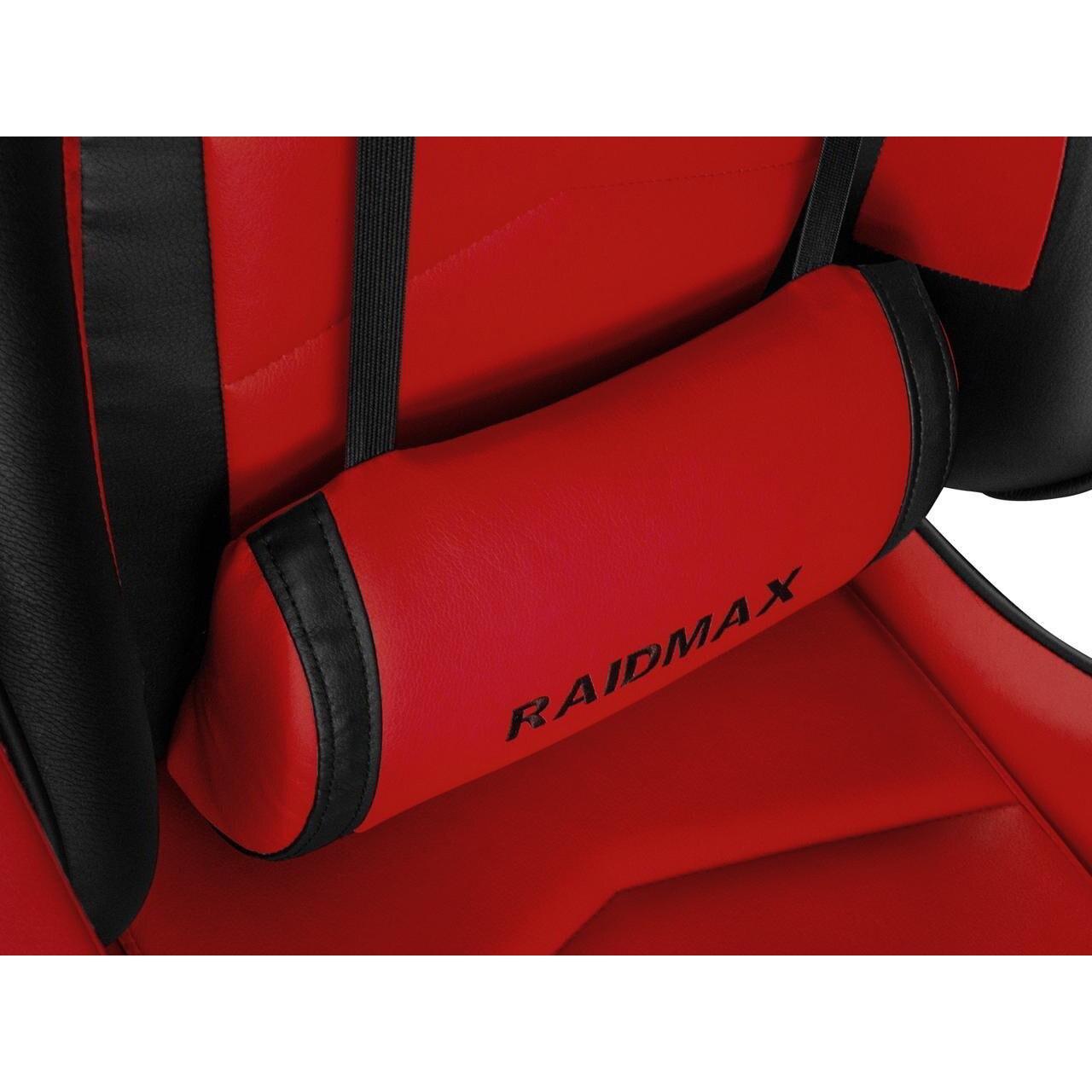 RaidMax Drakon DK709 Gamer Szék PirosFekete (420146)
