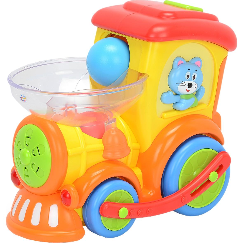 Fotografie Jucarie interactiva M-Toys - Locomotiva cu mingiute