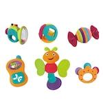 M-Toys 6 darabos csörgő készlet