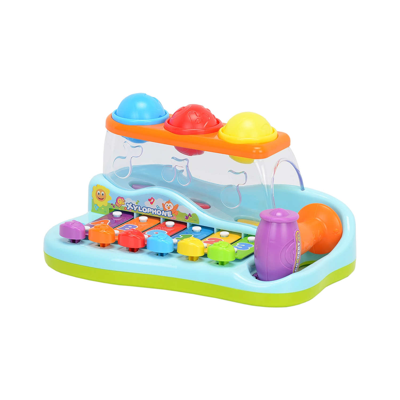 Fotografie Jucarie interactiva M-Toys - Xilofon, cu mingiute si sunete
