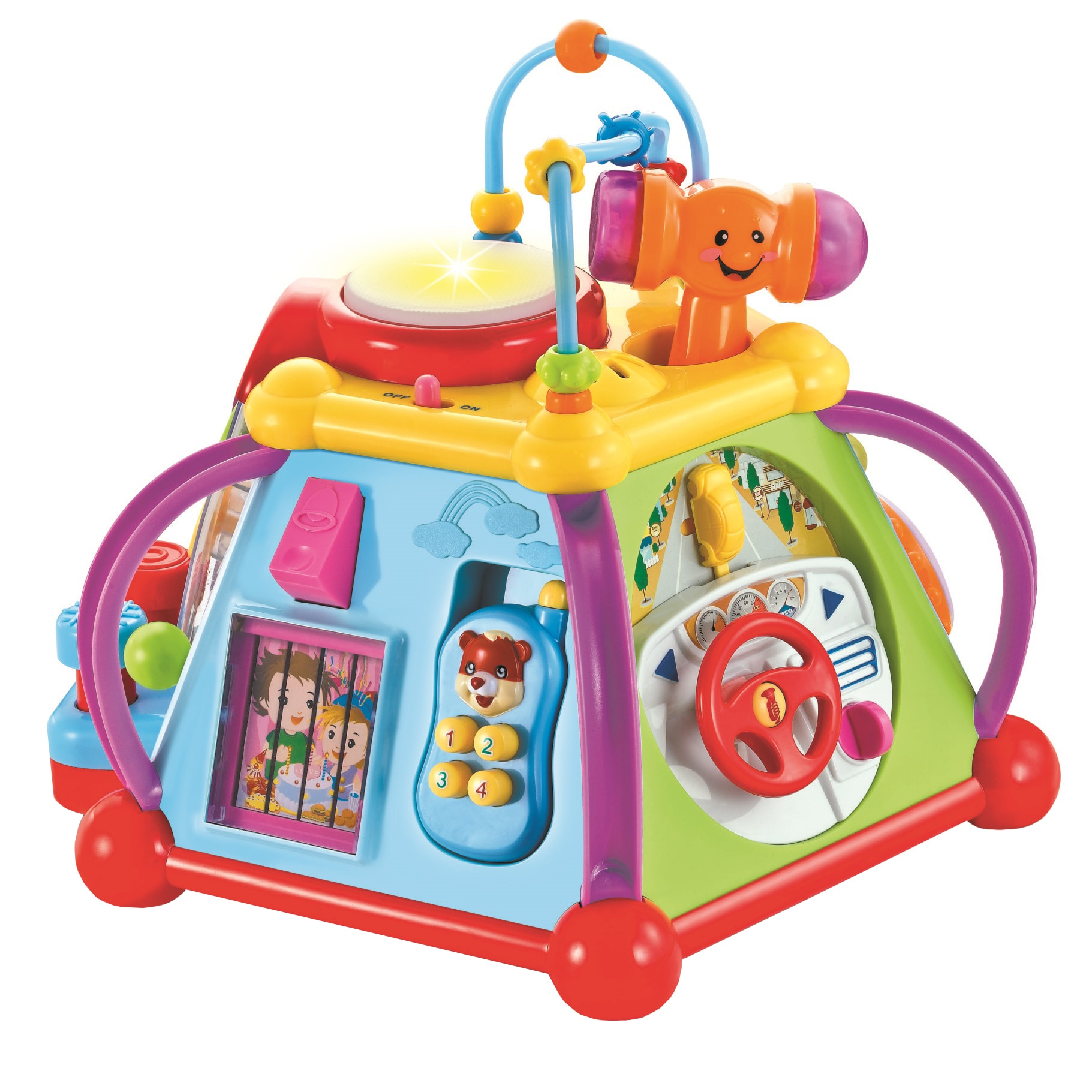 Fotografie Centru de activitati bebelusi Mappy Toys Tonomatul educativ