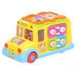 M-Toys Tanulást segítő játék, Iskolabusz, Fényekkel és Hangokkal
