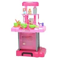 M-Toys 2 az 1-ben gyerekkonyha kiegészítőkkel