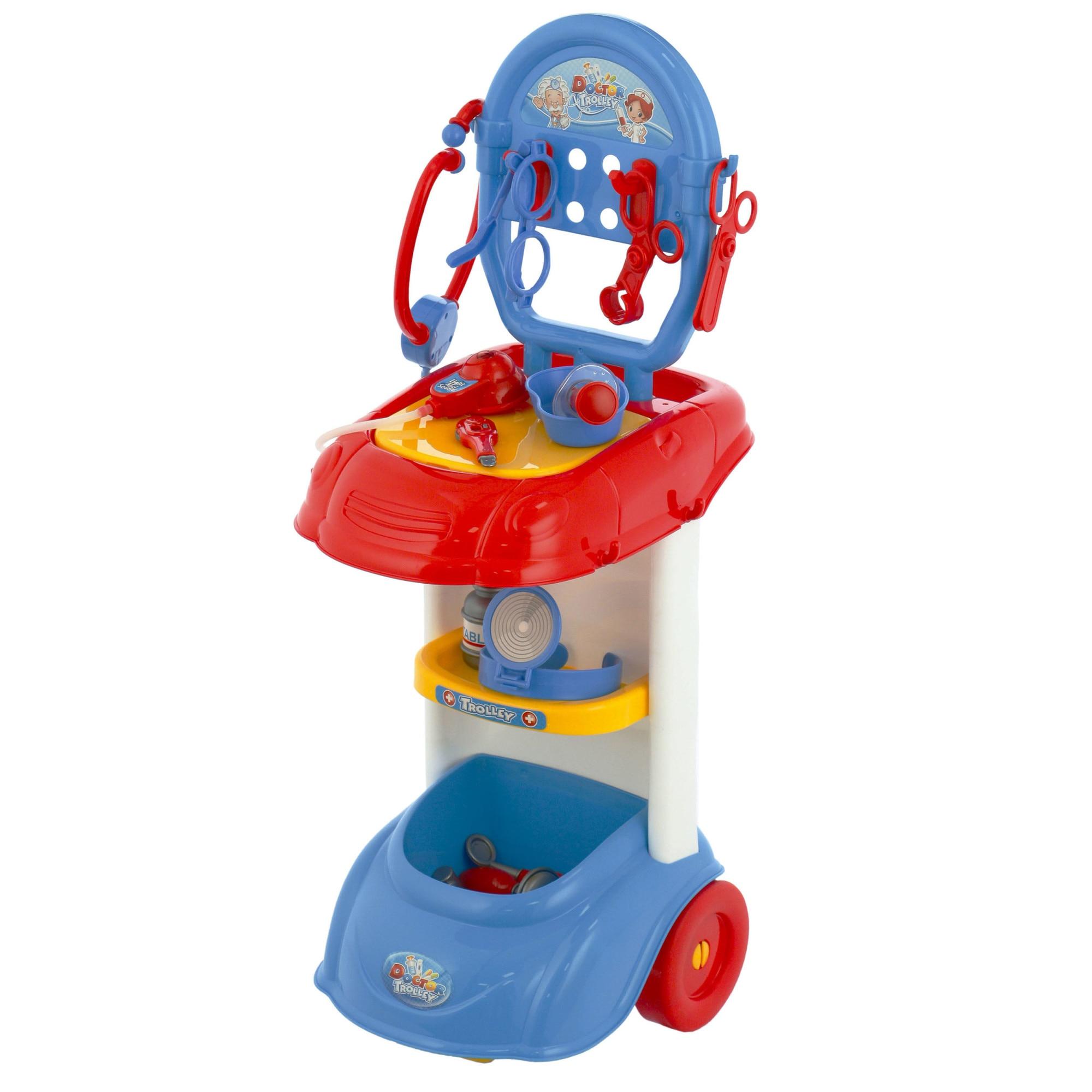 Fotografie Set doctor M-Toys cu 12 accesorii, lumini si sunete