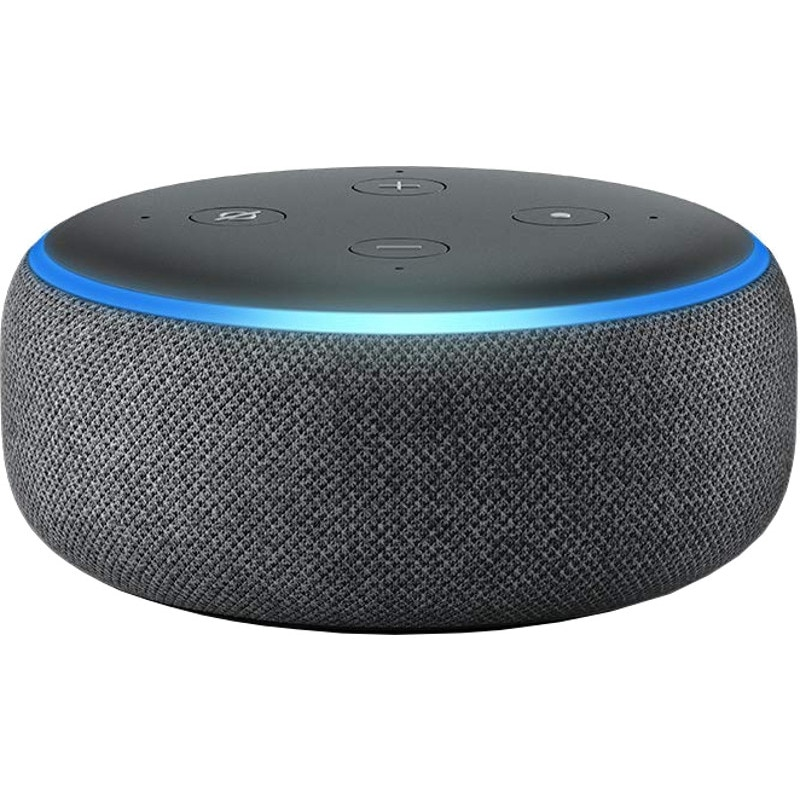Fotografie Boxa Amazon Echo Dot 3, Alexa, Negru