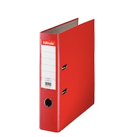Biblioraft A4 plastifiat 7.5 cm Esselte Eco - rosu - 20 bucati/ cutie