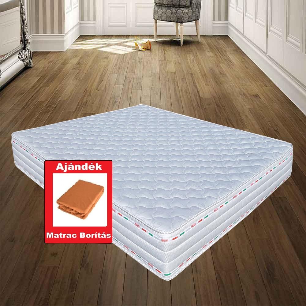 SLEEPY-MEMORY Gyapjú/Teflon Memory Foam Ortopéd vákuum matra, Anatómiai matrac ízületi problémákhoz