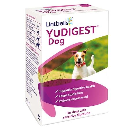 Хранителна добавка за кучета Yudigest, 60 таблетки