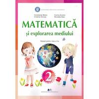 Matematica si explorarea mediului manual pentru clasa a II-a, autor Constanta Balan