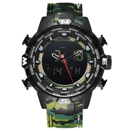 Мъжки часовник WEIDE WH6310B-5C, Черен