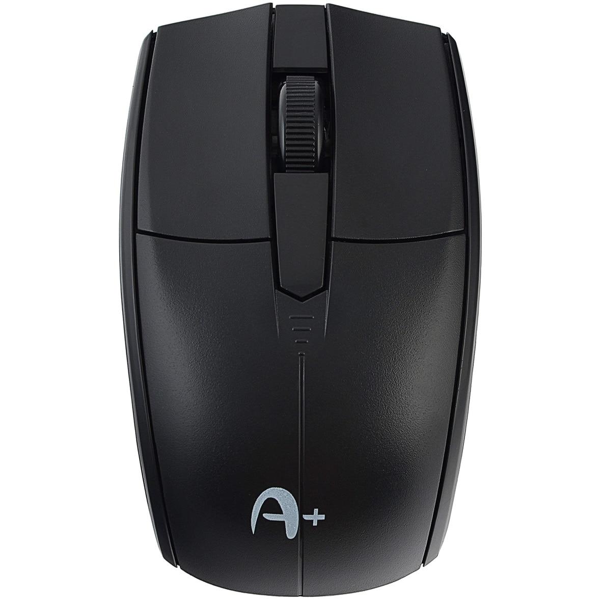 Fotografie Mouse Wireless A+ F2, Negru