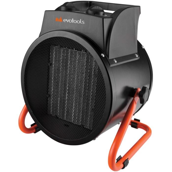 Fotografie Aeroterma electrica Evotools, 5000 W, rezistenta ceramica, termostat tensiunea de alimentare 400 V