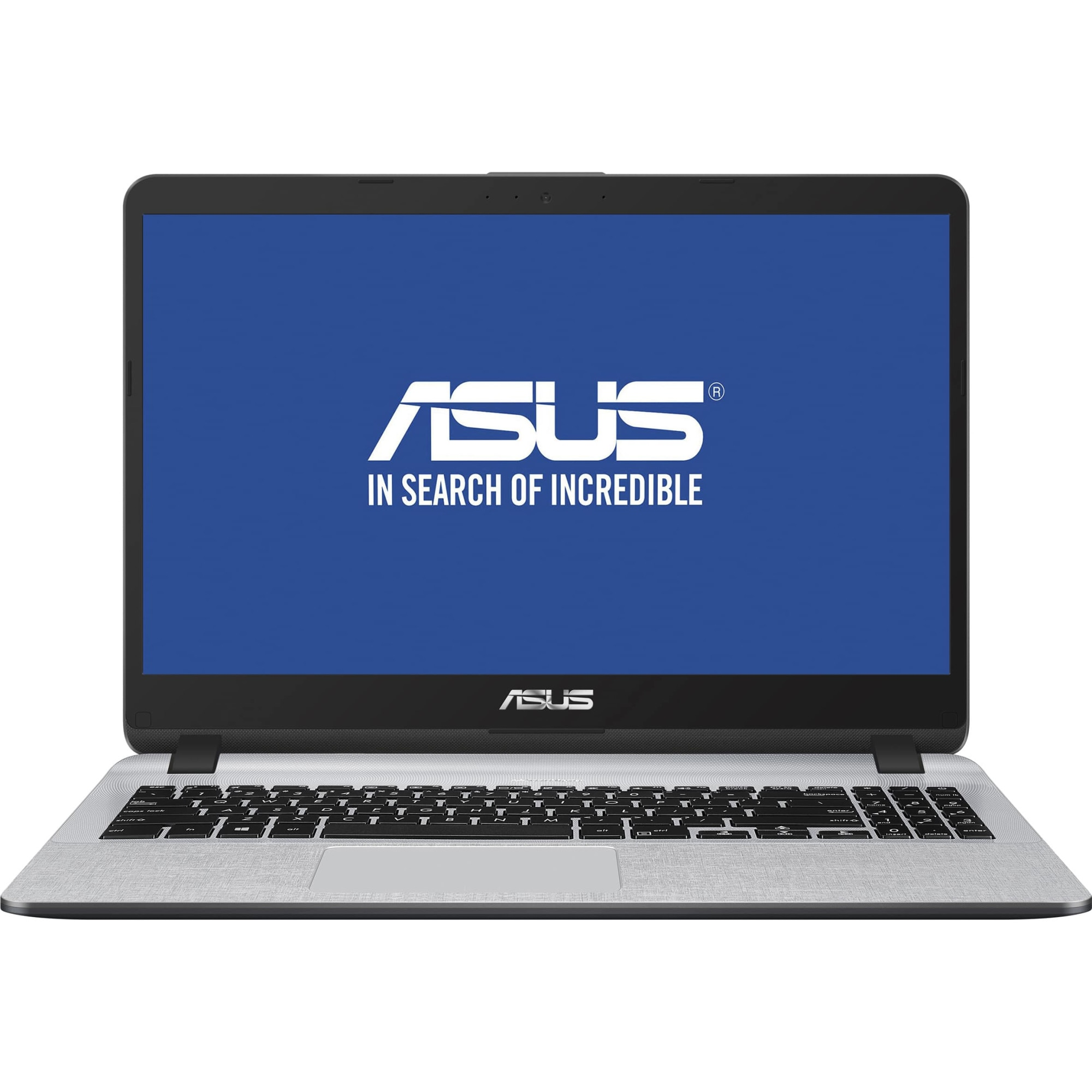 "Fotografie Laptop ASUS X507UA cu procesor Intel® Core™ i5-8250U pana la 3.40 GHz, Kaby Lake R, 15.6"", Full HD, 8GB, 1TB, Intel UHD Graphics 620, Endless OS, Star Grey"