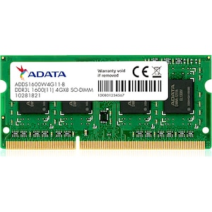 Memorie Laptop A-DATA ADDS1600W4G11-S, DDR3L, 4GB, 1600MHz
