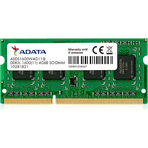 Fotografie Memorie Laptop A-DATA ADDS1600W4G11-S, DDR3L, 4GB, 1600MHz