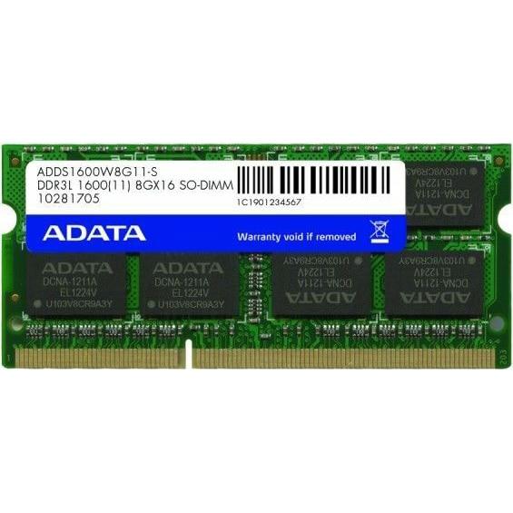 Fotografie Memorie notebook ADATA, 8GB DDR3L, 1600MHz, CL11