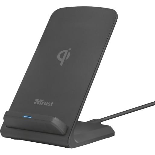 Fotografie Incarcator wireless Trust Expo 10, Fast charging, Black