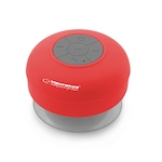 Esperanza EP124R SPRINKLE Bluetooth piros hordozható vízálló hangszóró