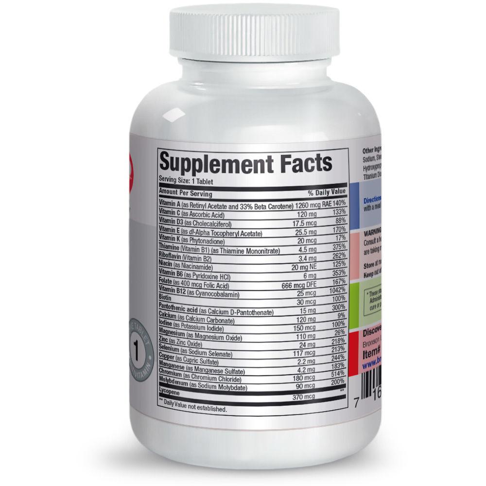 vitamine pentru bărbați pentru vedere