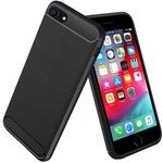 Anti Shock кейс PhoneplusBG, Carbon за IPhone 7/8/SE 2020, Черен