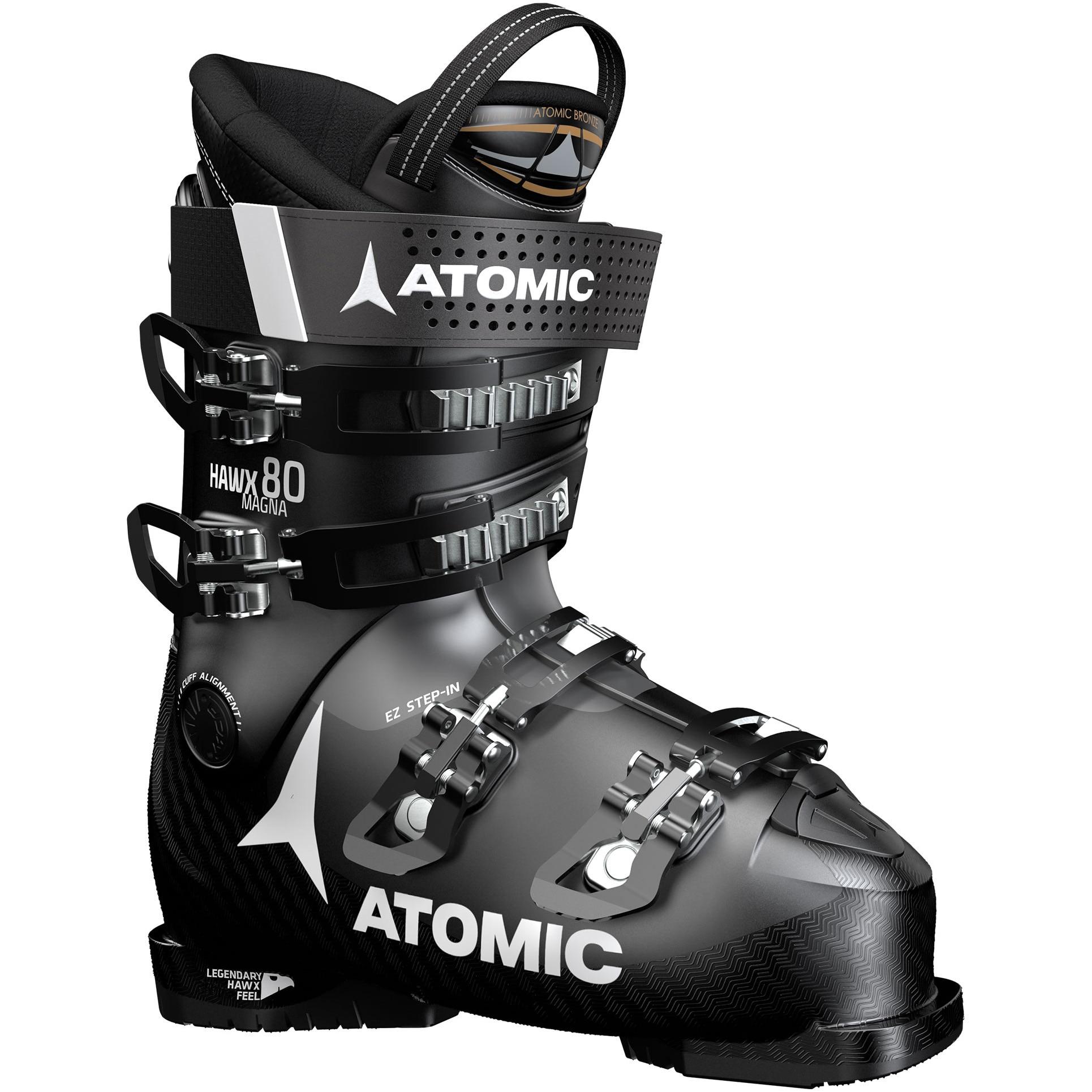 Fotografie Clapari Atomic Hawx Magna 80 Unisex, Black/Anthracite, Negru/Gri, 25, 25.5
