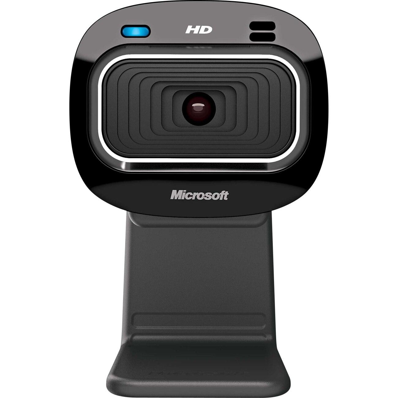 Fotografie Camera Web Microsoft LifeCam HD-3000, HD, Negru