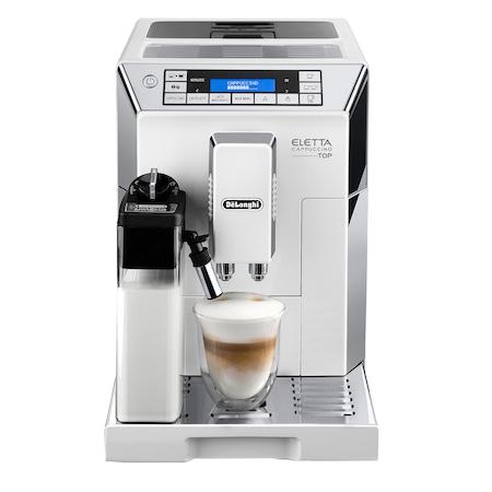 Espressor Automat De'Longhi ECAM 45.760 ELETTA, 1450 W, 15 bar, Alb
