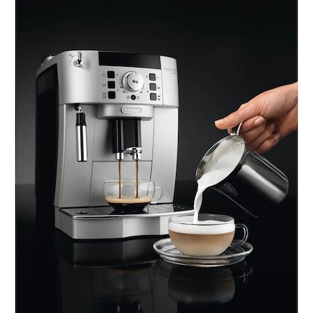 Espressor Automat De'Longhi, ECAM 22.110 SB, 145 0W, 15 bar, 1.8 L, Negru Argintiu