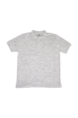 Férfi galléros póló rövid ujjú SG Poly Cotton Polo Hamuszürke, Hamuszürke
