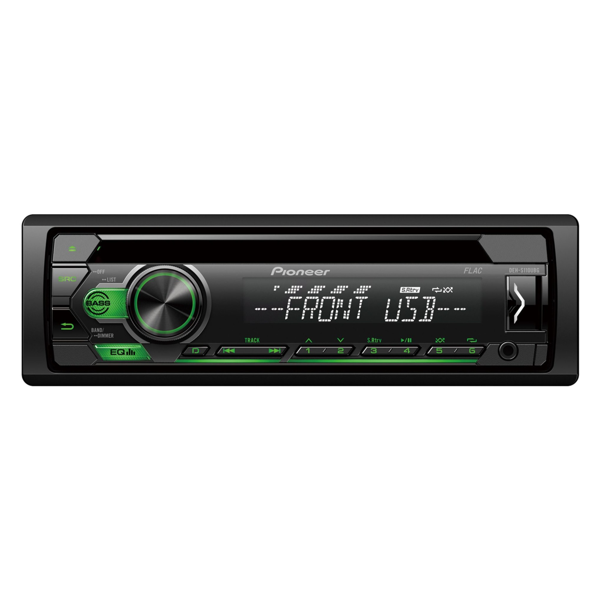 Fotografie CD player auto Pioneer DEH-S110UBG, 4x50W, 1DIN, USB