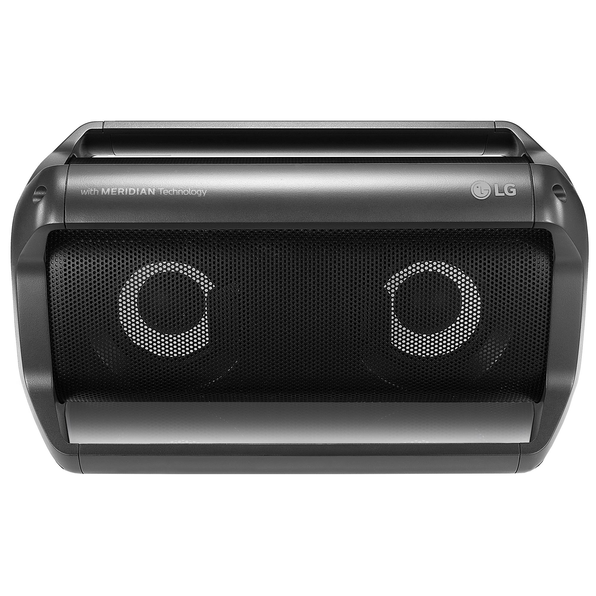 Fotografie Boxa portabila LG XBOOM Go PK5, 20W, Hands-Free, IPX5, Dynamic Party Light, Negru