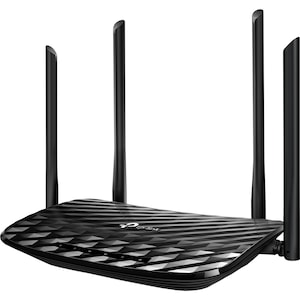 TP-Link Archer C6 Wireless router, AC1200, Gigabit, Dual-Band, Fekete