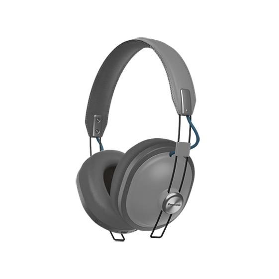 Fotografie Casti on-ear bluetooth cu microfon PANASONIC RP-HTX80BE-H, gri