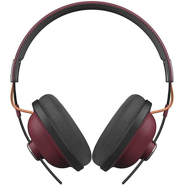 Fotografie Casti Audio Over the Ear Panasonic RP-HTX80BE-R, Wireless, Bluetooth, Microfon, Autonomie 24 ore, Grena