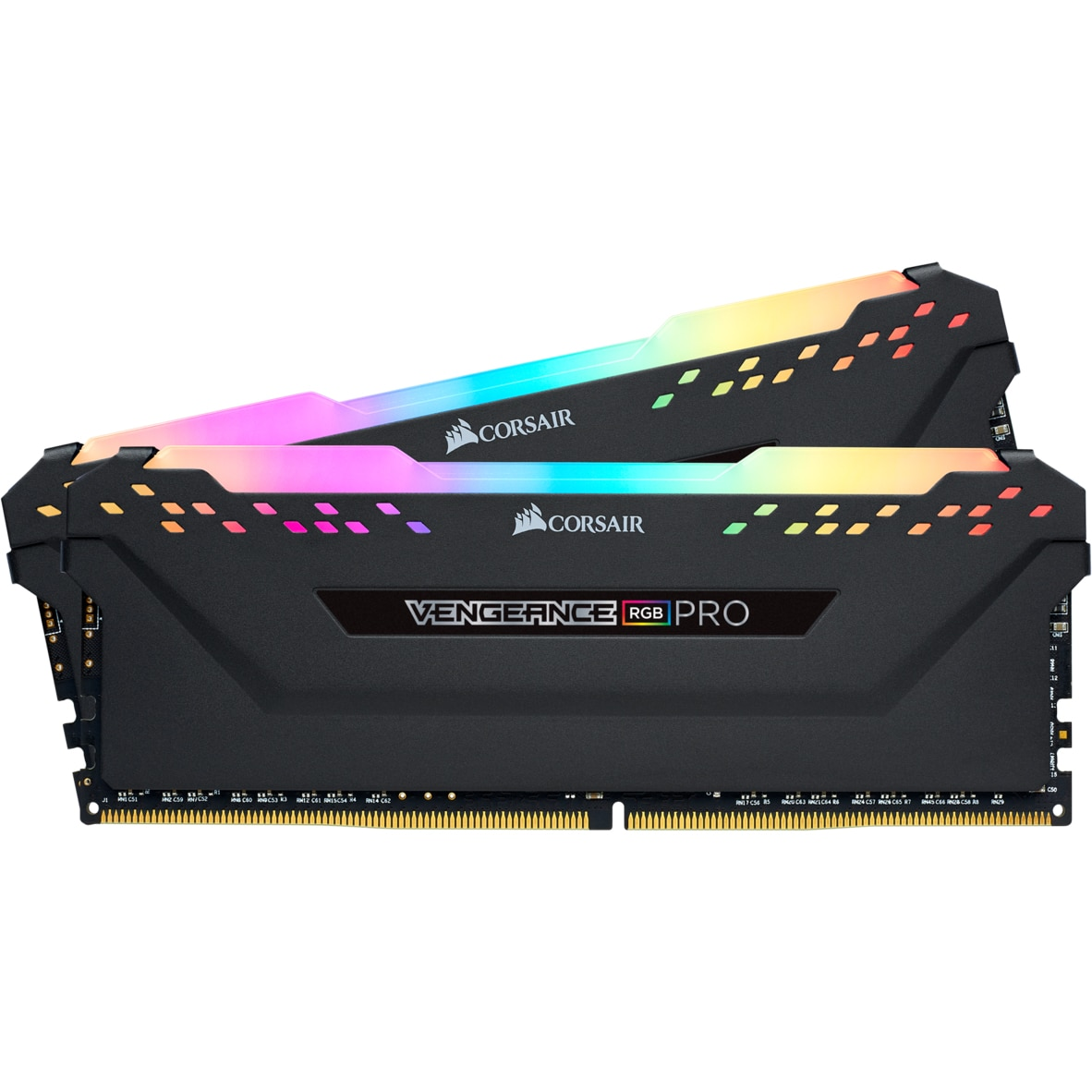 Fotografie Memorie Corsair Vengeance RGB PRO 32GB, DDR4, 3200MHz, CL16, Dual Channel Kit