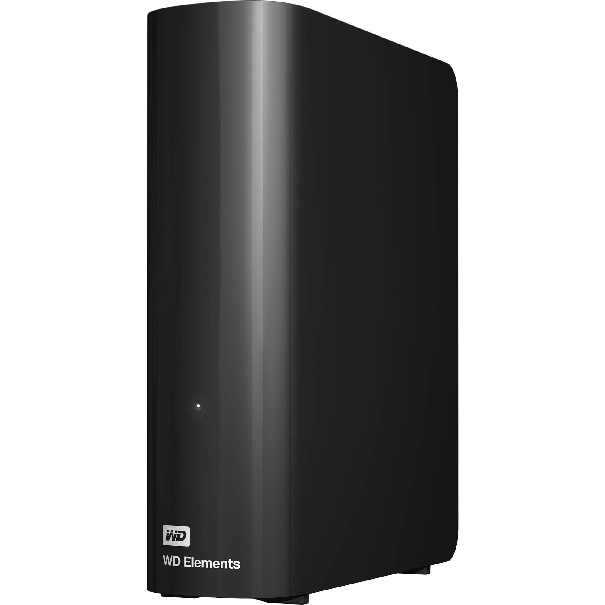 """Fotografie HDD Extern WD Elements Desktop 8TB, 3.5"""", USB 3.0, Negru"""