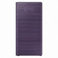 Samsung N960 Galaxy Note 9 gyári LED View Cover, flip tok, Levendula, EF-NN960PV, (SM-N960)