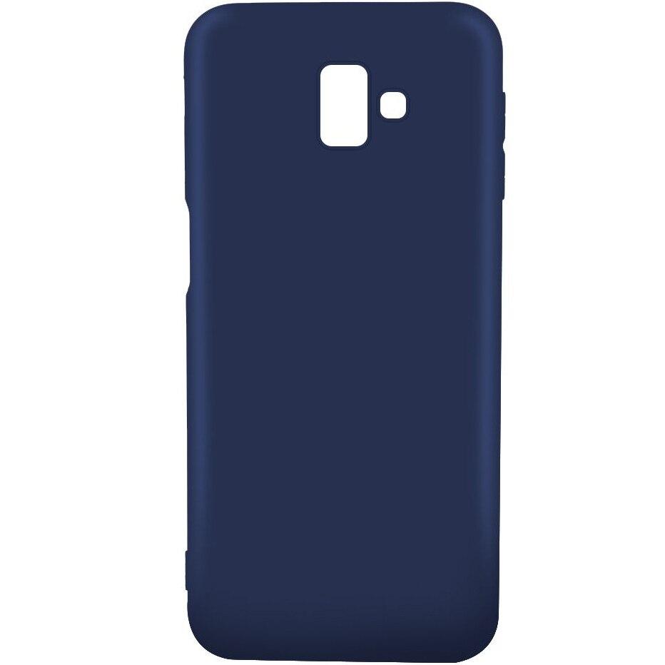 Fotografie Husa de protectie Lemontti Silky pentru Samsung Galaxy J6 Plus, Blue