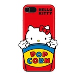 Силиконов гръб Hello Kitty 3D object - Pop Corn за iPhone SE2/8/7/6