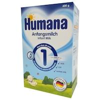 Lapte praf Humana 1 GOS , 600g , de la nastere