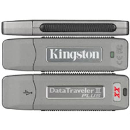 Flash Pen Kingston 512MB - DataTraveler II Plus 19MB/s, 13MB/s, USB 2.0