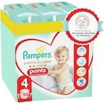 Scutece-chilotel Pampers Premium Care Pants XXL Box Marimea 4, 9-15 kg, 88 buc