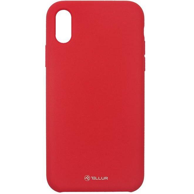 Fotografie Husa de protectie Tellur Silicon pentru Apple iPhone XR, Rosu