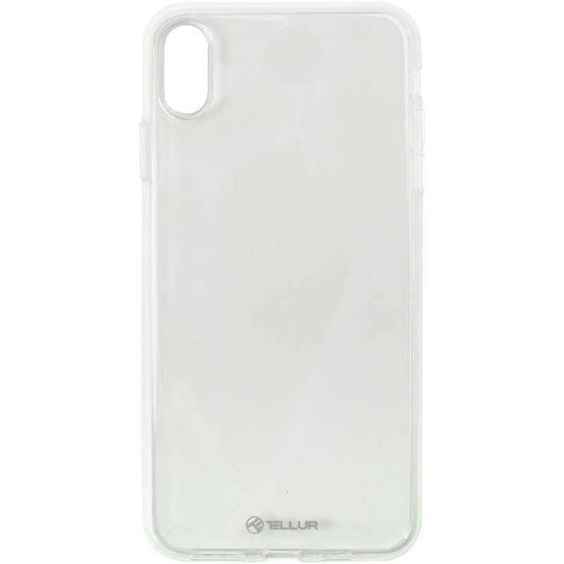 Fotografie Husa de protectie Tellur Silicone pentru Apple iPhone XS Max, Transparent