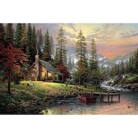 Картинa Canvas Падане, Гора, 90 x 60 см, Mногоцветен