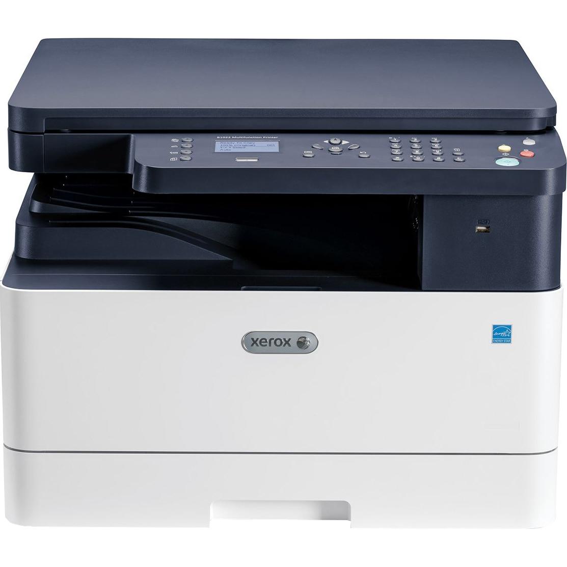 Fotografie Multifunctional laser monocrom Xerox WorkCentre B1025V_B, Retea, A3