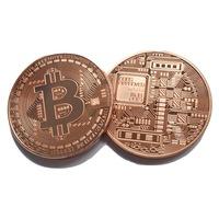 Монета Martbg Bitcoin, Биткоин Bronze, в защитна капсула
