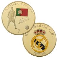 Монета Martbg Роналдо/Реал Мадрид, колекционерска